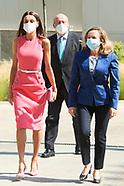 061121 Queen Letizia attends Closing ceremony of 'Santander WomenNOW 2021'