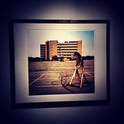 """Modern Industry, Kodak Hawkeye Building""<br /> 20""x24 archival pigment print, mounted in custom steel frame, #1 of 5."