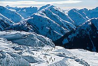 Frontier Pass, Whistler Mountain, Whistler Blackcomb ski resort, British Columbia, Canada
