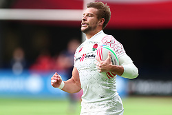 March 9, 2019 - Vancouver, BC, U.S. - VANCOUVER, BC - MARCH 09: Tom Mitchell (6) runs the ball in for a try vs England during day 1 of the 2019 Canada Sevens Rugby Tournament on March 9, 2019 at BC Place in Vancouver, British Columbia, Canada. (Photo by Devin Manky/Icon Sportswire) (Credit Image: © Devin Manky/Icon SMI via ZUMA Press)