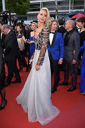 "71st Cannes Film Festival 2018, Red Carpet film ""Blackkklansman"". Pictured: Lady Victoria Hervey"
