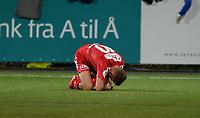 Fotball Menn OBOS-ligaen Ranheim - Brann<br /> DnB Nor Arena, Trondheim 21 september 2015<br /> <br /> Steffen Skålevik, Brann, nede for telling<br /> <br /> Foto : Arve Johnsen, Digitalsport