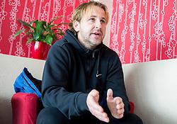 Interview of Nastja Ceh, Slovenian Football player and manager in NK Drava Ptuj, on January 5, 2015 in Ptuj, Slovenia.  Photo by Vid Ponikvar / Sportida