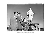 Pilgrims making the annual visit to Our Lady's Island, county Wexford.<br /> <br /> 13th August 1954<br /> 13/08/1954