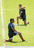 31 May 2013; Mike Philips, British & Irish Lions, during the captain's run ahead of their game against Barbarian FC on Saturday. British & Irish Lions Tour 2013, Squad Captain's Run, Aberdeen Sports Ground, Aberdeen, Hong Kong, China. Picture credit: Stephen McCarthy / SPORTSFILE