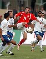 Fotball<br /> VM-kvalifisering<br /> Polen v Aserbaijan / Azerbaijan<br /> Foto: Wrofoto/Digitalsport<br /> NORWAY ONLY<br /> <br /> Tomasz Frankowski - Polen