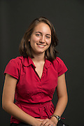 Teacher Blogger from YWCPA 8th grade Mariela Niland poses for a photograph, August 21, 2013.