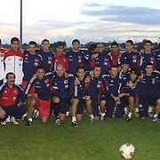 Turkish soccer National team Euro Cup 2004. Turkey between Macedonia match. Turkey's  during their training in Florya Galatasaray training center. Istanbul/Turkey<br /> Photo by Aykut AKICI/TurkSporFoto
