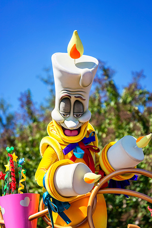 Lumière is a kind-hearted, yet rebellious, servant of the Beast. He has a habit of disobeying his master's rules that results in controversy, but after Belle, he is arguably the Beast's closest friend, demonstrated when the Beast often turns to Lumière and no one else for advice. His free-spirited and rebellious personality also often puts a severe strain on his friendship with Cogsworth, whom prefers to abide strictly by his master's rules so as to avoid any trouble for himself and anyone else, but as shown many times in the game and film series, he values Cogsworth like a brother. He is depicted as sort of a lady's man, as Beast often goes to him for love advice dealing with his feelings for Belle.