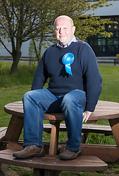 Conservative Council Candiate, Mark Brown who is standing in the Drum Brae / Gyle ward in Edinburgh has been pounding the streets drumming up support from the residents.<br /> <br /> Cuddly campaigner, Brown, has proclaimed that he has walked over 500 miles during the election run in and no doubt would walk 500 more if he becomes the councillor at the count tomorrow.<br /> <br /> Whilst he hasn't been recording his weight loss since the start of the campaign he has reduced his waist-size by two holes in his belt in the last 8 weeks of campaigning.