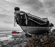 At the boat graveyard in Volos