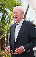 Actor Michael Caine at the Youth film photo call at the 68th Cannes Film Festival Tuesday May 20th 2015, Cannes, France.