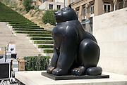 Armenia, Yerevan, Cafesjian Museum of Art and the Cascade