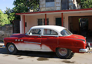Old car in Cardenas, Matanzas, Cuba.