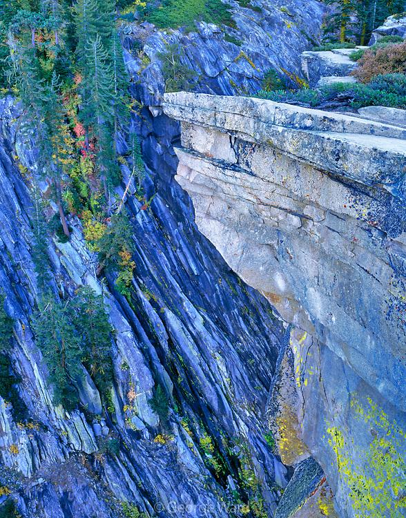 Precipice from Taft Point, Yosemite National Park, California
