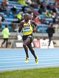 adidas Grand Prix track & field: Diamond League professional meet, mens 5000 meters, Vincent Kiprop CHEPKOK, Kenya