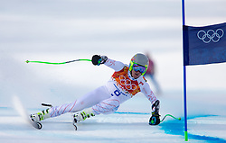 16-02-2014 SKIEN: OLYMPIC GAMES SCHANSSPRINGEN: SOTSJI<br /> Ted Ligety of the USA in action during the mens Super G to the Olympic Winter Games Sochi 2014<br /> ***ONLY NETHERLANDS***<br /> ©2014-FotoHoogendoorn.nl
