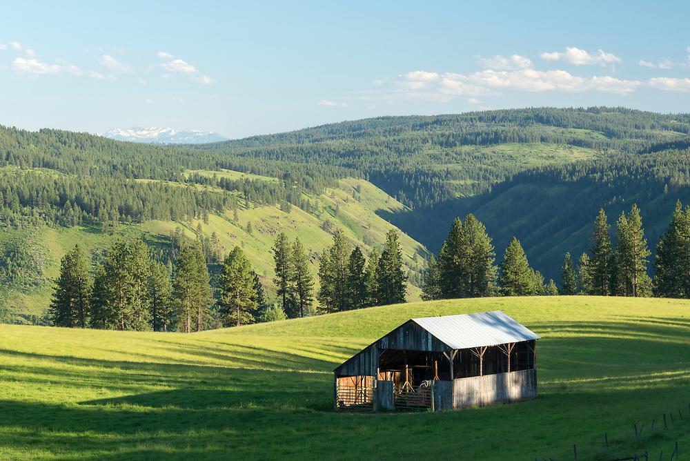 Barn on a ranch in Northeast Oregon.