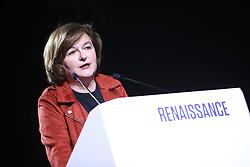 March 26, 2019 - Paris, France - Nathalie Loiseau - Ex Ministre chargee des Affaires europeennes et tete de liste des elections Europeennes pour la Renaissance. (Credit Image: © Panoramic via ZUMA Press)