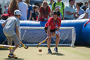 Photos from in and around the Quintin Hogg Memorial Sports Ground, University of Westminster during the Investec Hockey World League Semi Final 2013, London, UK on 30 June 2013. Photo: Simon Parker