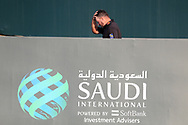 Graeme McDowell (NIR) walking to collect the winners trophy after the final round of  the Saudi International powered by Softbank Investment Advisers, Royal Greens G&CC, King Abdullah Economic City,  Saudi Arabia. 02/02/2020<br /> Picture: Golffile   Fran Caffrey<br /> <br /> <br /> All photo usage must carry mandatory copyright credit (© Golffile   Fran Caffrey)