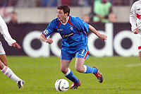 Fotball<br /> UEFA Champions League 2003/2004<br /> Foto: Digitalsport<br /> Norway Only<br /> <br /> 031126 - VFB STUTTGART v RANGERS GLASGOW<br /> SHOTA ARVELADZE (RAN)<br /> PHOTO LAURENT BAHEUX