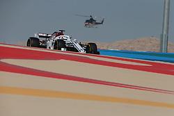 April 7, 2018 - Sakhir, Bahrain - Motorsports: FIA Formula One World Championship 2018, Grand Prix of Bahrain, Helicopter , #9 Marcus Ericsson (SWE, Sauber F1 Team) (Credit Image: © Hoch Zwei via ZUMA Wire)
