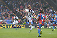 James Morrison of West Bromwich Albion in action. Barclays Premier League match, Crystal Palace v West Bromwich Albion at Selhurst Park in London on Saturday 3rd October 2015.<br /> pic by John Patrick Fletcher, Andrew Orchard sports photography.