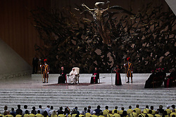 August 1,  2018  - Vatican City (Holy See)  POPE FRANCIS during his weekly general audience in Aula Paolo VI at the Vatican  (Credit Image: © Evandro Inetti via ZUMA Wire)