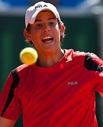 04.08.2010, Sportpark, Kitzbühel, AUT, ATP Challenger, Austrian Open 2010, im Bild Dominic THIEM (AUT), EXPA Pictures © 2010, PhotoCredit: EXPA/ J. Feichter / SPORTIDA PHOTO AGENCY