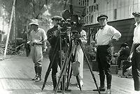 1917 Cecil B DeMille filming at Famous Players Lasky Studios