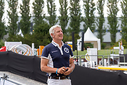 BOST Roger Yves (FRA)<br /> Berlin - Global Jumping Berlin 2018<br /> Longines Global Champions Tour<br /> Grand Prix of Berlin presented by Sapinda<br /> 28. Juli 2018<br /> © www.sportfotos-lafrentz.de/Stefan Lafrentz