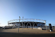 a General view of outside London Stadium several hours before k/o. Premier league match, West Ham Utd v Manchester Utd at the London Stadium, Queen Elizabeth Olympic Park in London on Monday 2nd January 2017.<br /> pic by John Patrick Fletcher, Andrew Orchard sports photography.