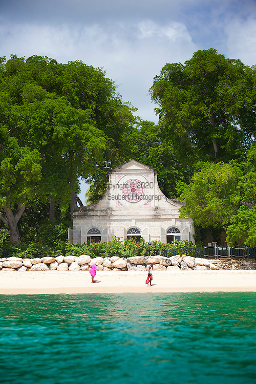 Heron Bay, a magnificent coral stone house sitting on the beachfront, has hosted many famous guests, including former US President Bill Clinton, former British Prime Minister Sir Winston Churchill, and several movie stars. The house was built in 1947 by the late Ronald Tree, a member of the Winston Churchill British Cabinet. The house is set on 20 acres of manicured gardens, including a small lake. The Barbados National Trust hosts the Open House Program annually and features some of the island's most historic and beautiful private homes. These lovely homes are opened one day a year with the kind permission of the owners.  The Heron House is occasionally open for this event.