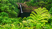 Rainbow Falls, Wailuku River State Park, Hilo, The Big Island, Hawaii