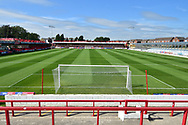 The Fraser Eagle Stadium  during the EFL Sky Bet League 1 match between Accrington Stanley and Scunthorpe United at the Fraser Eagle Stadium, Accrington, England on 1 September 2018.