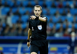 July 3, 2018 - Moscow, Russia - Round of 16 England v Colombia - FIFA World Cup Russia 2018..The referee Geiger  (Credit Image: © Matteo Ciambelli/NurPhoto via ZUMA Press)