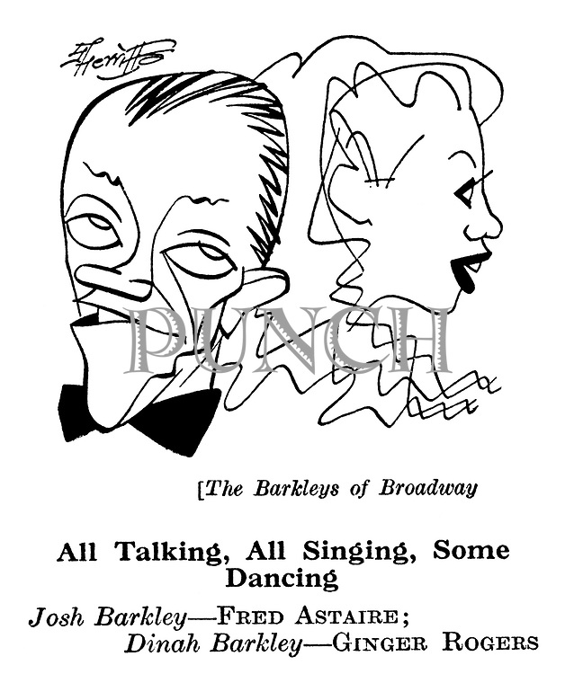 The Barkleys of Broadway ; Fred Astaire and Ginger Rogers........
