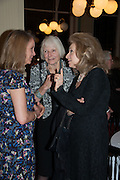 SABRINA GUINNESS; LADY NORWICH; LADY WOLFSON, The London Library Annual  Life in Literature Award 2013 sponsored by Heywood Hill. The London Library Annual Literary dinner. London Library. St. james's Sq. London. 16 May 2013.