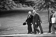 1959. President Eisenhower and Nikita Kruschev during Khrushchev's first day in Washington.<br /> Nikita Khrushchev became the first Soviet premier to visit the United States. He said he was curious to have a look at America. It consisted of a twelve day trip which was a huge success!<br /> <br /> 1959. Président Eisenhower et Nikita Khrouchtchev lors de la première journée de Khrouchtchev à Washington .<br /> Nikita Khrouchtchev est le premier chef d'etat soviétique à visiter les États-Unis . Il a dit qu'il était curieux de voir l'Amérique . Son voyage de douze jours as éte un énorme succès!