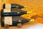 Double magnum bottles of Chablis Premier Cru Les Vaillons 2002 in Domaine Michel Laroche's private cellar