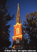 First Presbyterian Church, built in 1860, along historic tour, York, PA