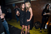 JULIA BOCCANERA; CHLOE MADDELEY, Sony BRAVIA World First - launch party. The Tramshed, 6-8 Garden Walk, Shoreditch London. 29 January 2009 *** Local Caption *** -DO NOT ARCHIVE-© Copyright Photograph by Dafydd Jones. 248 Clapham Rd. London SW9 0PZ. Tel 0207 820 0771. www.dafjones.com.<br /> JULIA BOCCANERA; CHLOE MADDELEY, Sony BRAVIA World First - launch party. The Tramshed, 6-8 Garden Walk, Shoreditch London. 29 January 2009