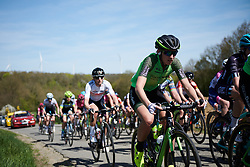 Pauliena Rooijakkers (NED) at La Flèche Wallonne Femmes 2018, a 118.5 km road race starting and finishing in Huy on April 18, 2018. Photo by Sean Robinson/Velofocus.com