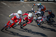 #911 (SHRIEVER Bethany) GBR at Round 10 of the 2019 UCI BMX Supercross World Cup in Santiago del Estero, Argentina