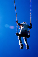 Young Girl on a Swing - 1998