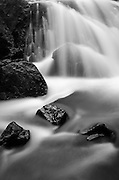 Cascade in Lundy Canyon, Inyo National Forest, Sierra Nevada Mountains, California USA