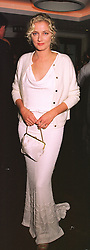 Actress JOELY RICHARDSON at a film premier on 26th August 1998.MJL 135 WO