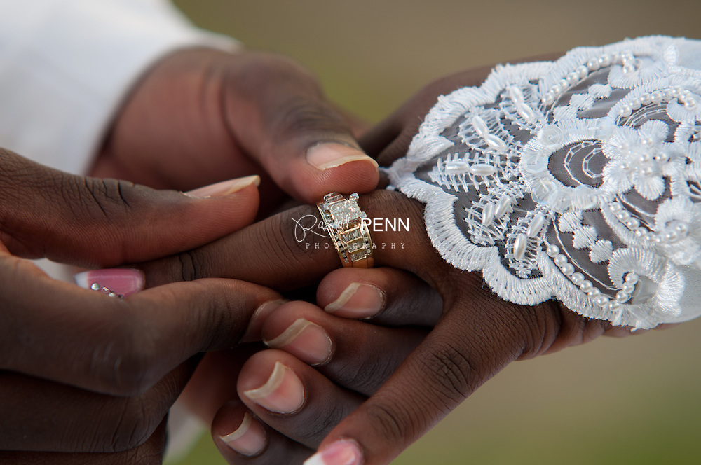 Wedding Ceremony, Garden photos and reception of Dominic and Keisha Mckenzie wedding. Maried at Yahweh House of Prayer and reception held at All Saints hall.