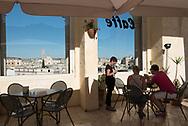 Panorami cafe in  Vittoro Veneto, square